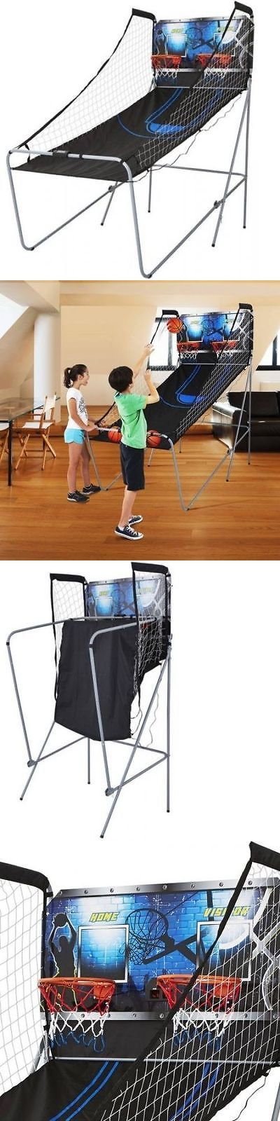 Other Indoor Games 36278: Arcade Basketball Game 2-Player Electronic Sports Shot Hoops With 8 Game Options BUY IT NOW ONLY: $69.99