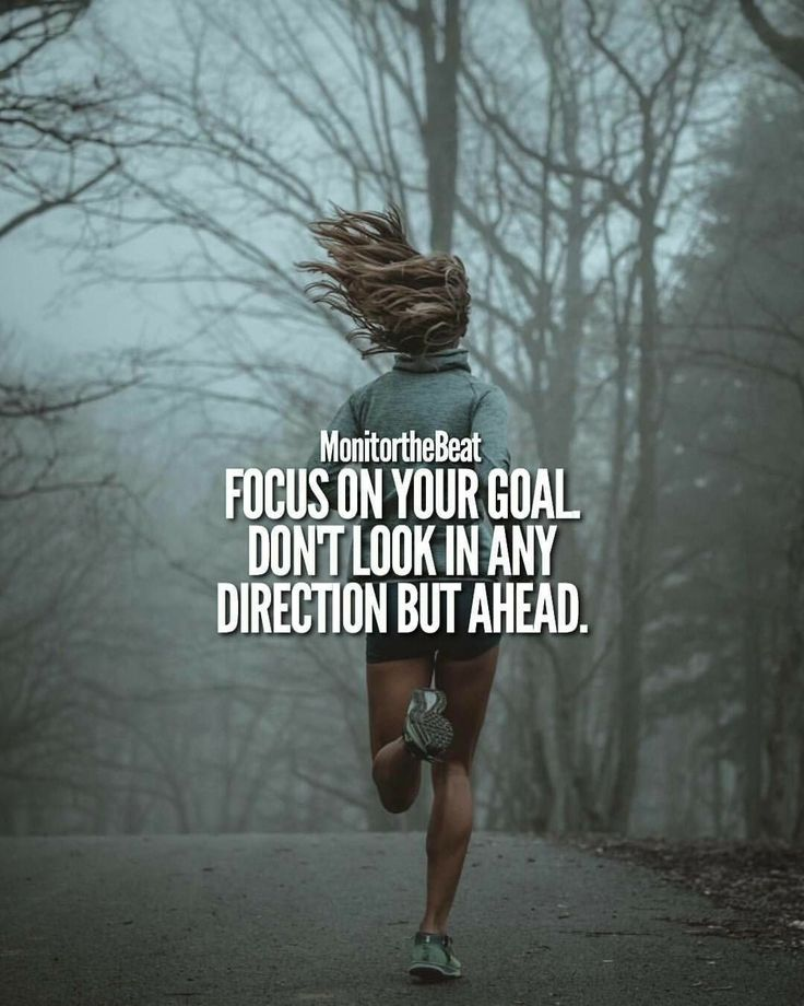 Look ahead focus on your goals | Posted By: NewHowToLoseBellyFat.com
