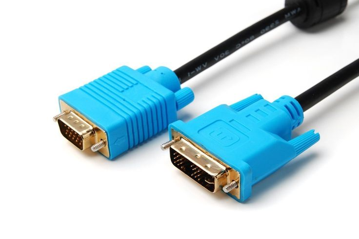 5M SVGA HD15 to DVI (DVI-I) Monitor Cable -  - http://sellitsocially.co.uk/5m-svga-hd15-to-dvi-dvi-i-monitor-cable/