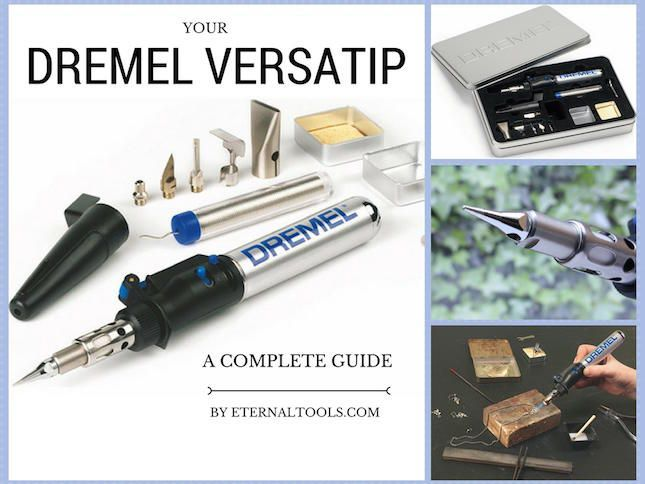 A Complete Guide to your Dremel VersaTip - a Torch, a soldering Iron, a Pyrography pen and more. Portable, cordless and lightweight