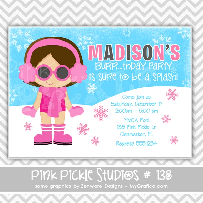 93 best Swimming Party images on Pinterest Birthdays, Invitations - birthday invitation swimming party