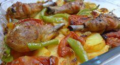 Fırında Patates Tavuk Tarifi | Yemek Tarifleri