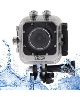 SJCAM M10 WiFi Mini Waterproof Action Sports Camera with 170-degree Wide-angle Lens, 1.5 Inch LTPS Screen, Support Full HD 1080P(Silver)
