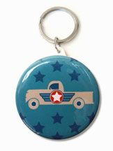 Trucks and Trikes Birthday; Vintage style 6 truck bag tags, comes with the Deluxe Packs