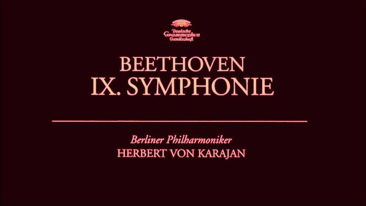 Ludwig van Beethoven - IX. Symphony No. 9 | Herbert von Karajan