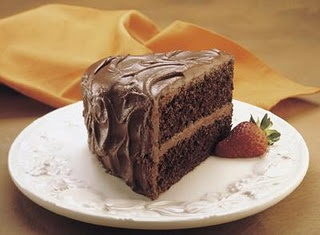 I searched for the perfect homemade chocolate cake recipe for years.  Come to find out, it was was on the back of the Hershey Cocoa box all along.  Delicious and so easy to make.
