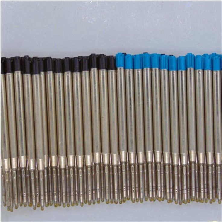 10 PCS Fine Stylo À Bille Recharges D'encre Lisse 0.5mm Moyen pour Parker Croix Style
