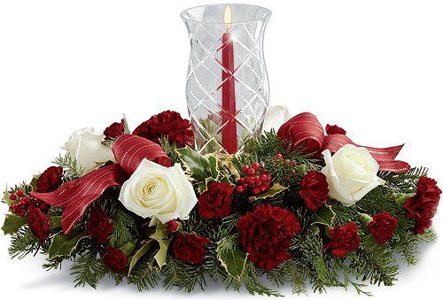 Best christmas floral designs images on pinterest