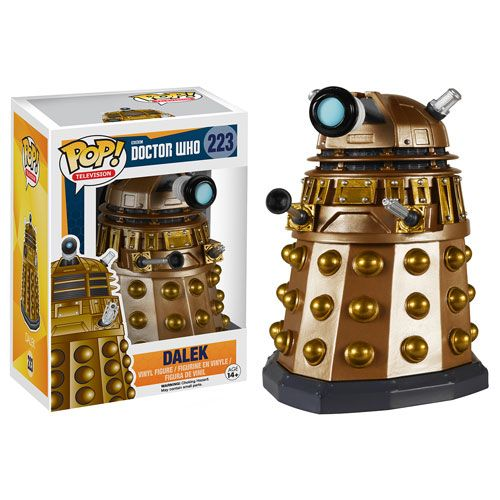 Doctor Who Dalek Pop! Vinyl Figure - wonder if they make it in black?