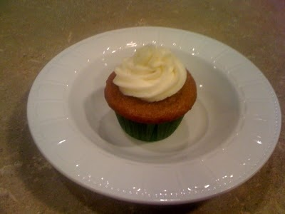Cheesecake Filled Carrot Cake Cupcakes w/ Cream Cheese Frosting