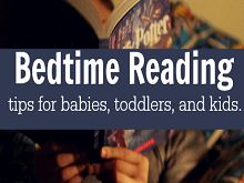 Bedtime Reading Strategies From Birth to Independent Reading