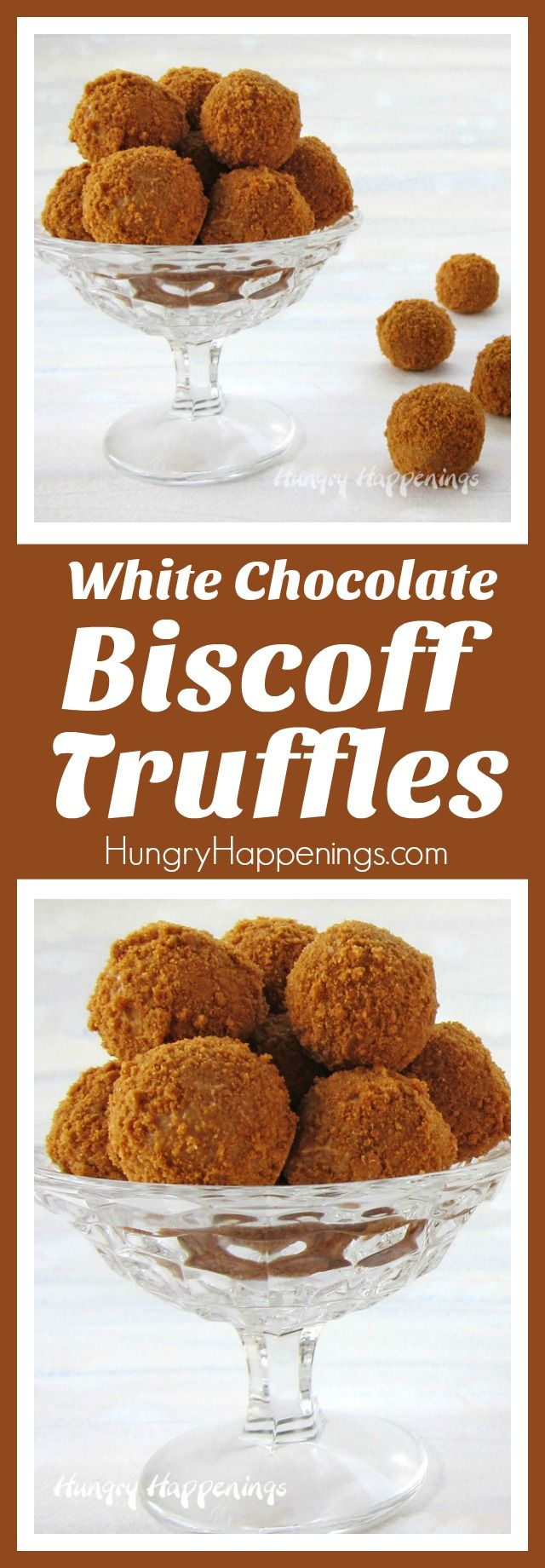 Blend white chocolate with Biscoff Cookie Butter to make these luxuriously rich and creamy truffles rolled in Biscoff Cookie Crumbs. These super easy 3-ingredient Biscoff Truffles will definitely become one of your favorite candies to make time and time again.