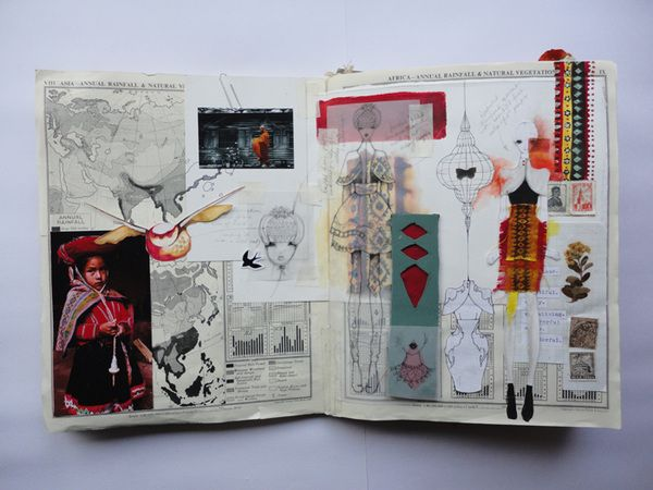 Design Sketchbook One by Jessie Holmes, via Behance