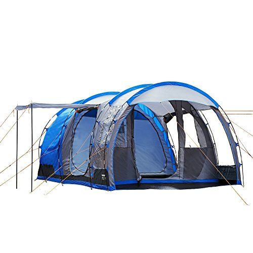 Introducing Regatta Great Outdoors Vanern 4 Man Family Tunnel Tent One Size Oxford Blue. Great product and follow us for more updates!