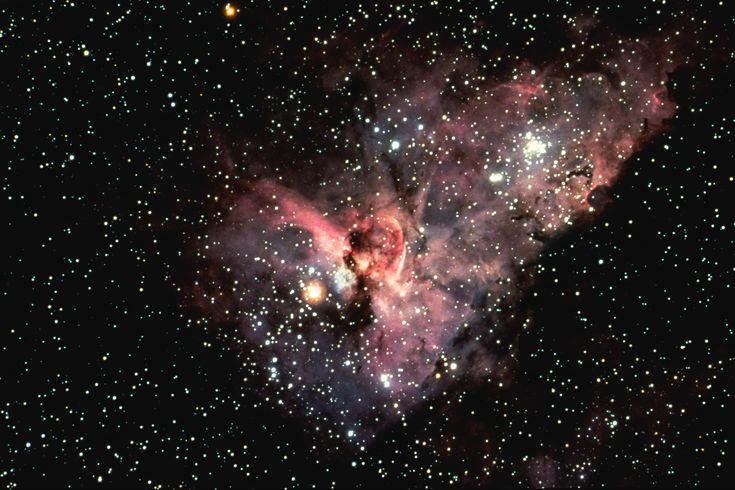 Eta Carinae Model 3D Printed by NASA & WhiteClouds