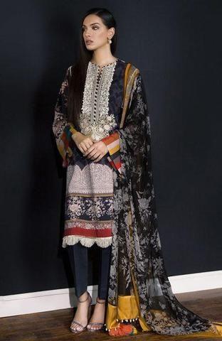 3aeb5a8365 Sana Safinaz Silk Suit Pakistani Designer Suits, Pakistani Suits, Designer Suits  Online, Suits