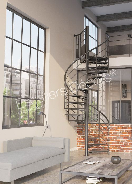 302 best images about un escalier pour votre mezzanine on for Type d escalier interieur