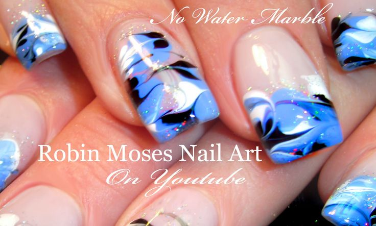 1000 Ideas About Marble Nails Tutorial On Pinterest
