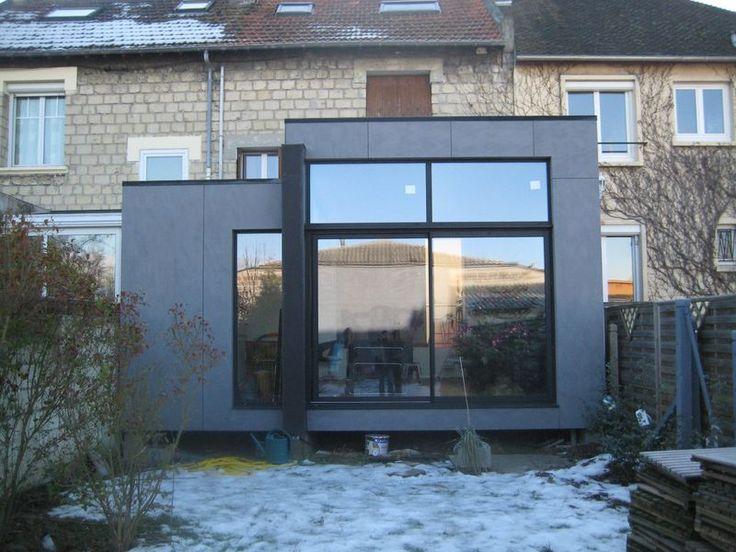 Extension ossature bois r ve de cuisine dans une v randa for Extension cuisine veranda