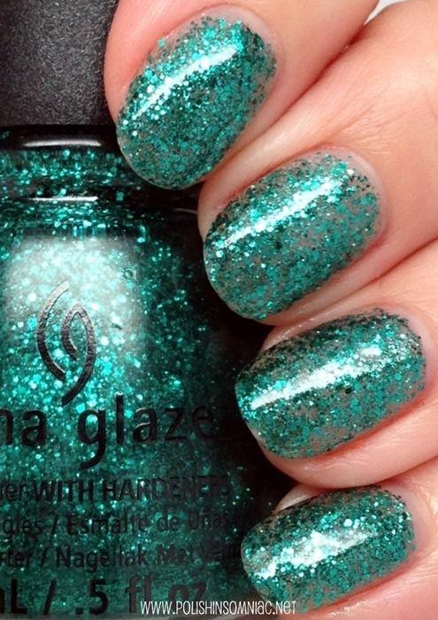 China Glaze Pine-ing for Glitter