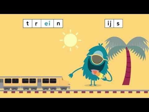 ▶ Taal actief Spellinganimatie woorden met ij of ei - YouTube