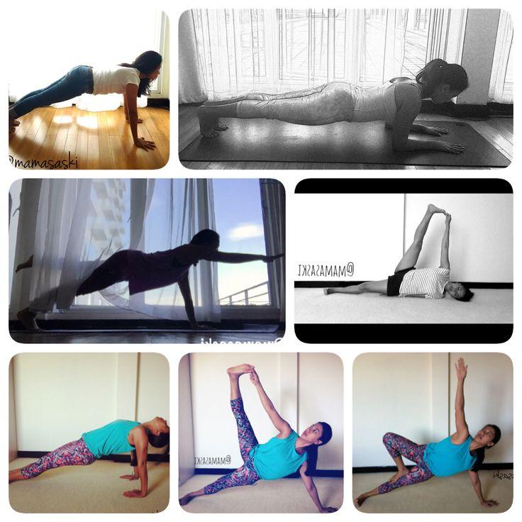 Yoga Plank Variations