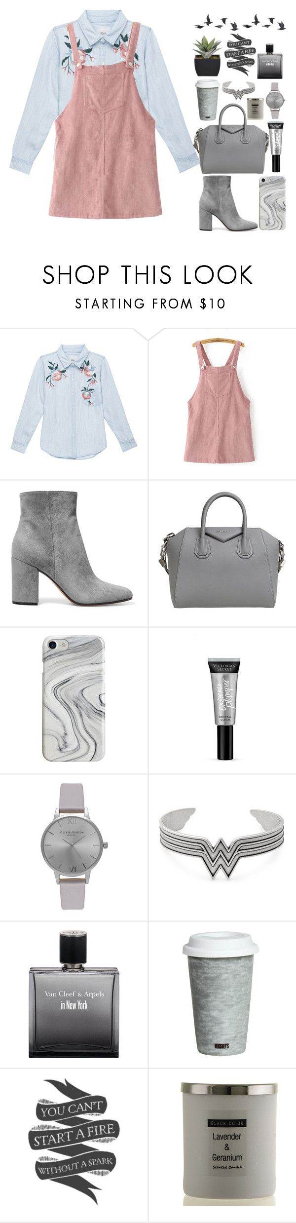 """Untitled #39"" by violentnoise ❤ liked on Polyvore featuring Rails, WithChic, Gianvito Rossi, Givenchy, Recover, Victoria's Secret, Olivia Burton, Alex and Ani, Fitz & Floyd and Native State"