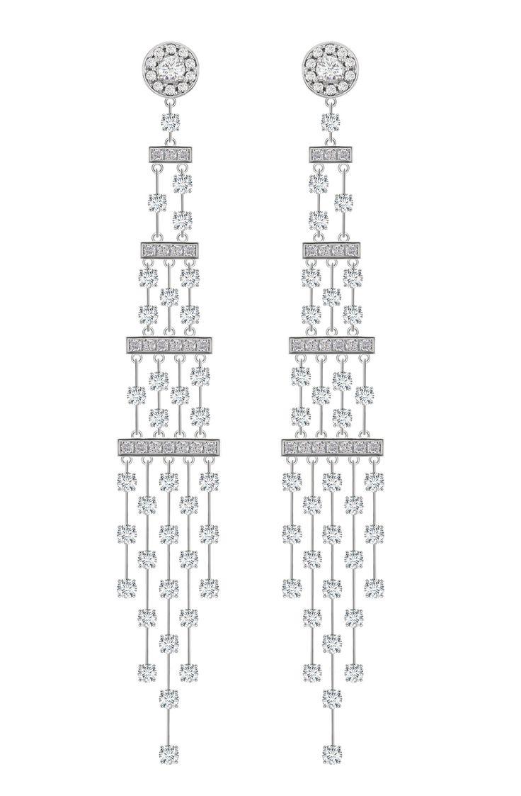25 creative Diamond Chandelier Earrings ideas to discover and try – Black Diamond Chandelier Earrings