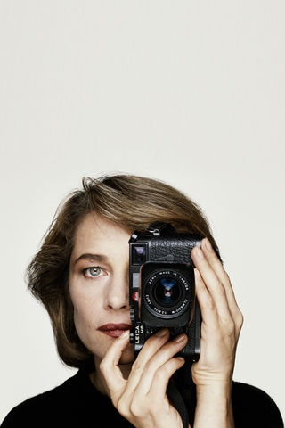 Charlotte Rampling. Interview in German on Vogue