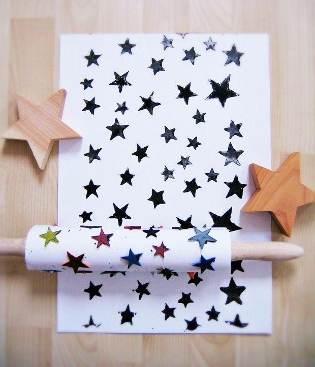 Geschenkpapier mal selbstgemacht von Ahoj 2012