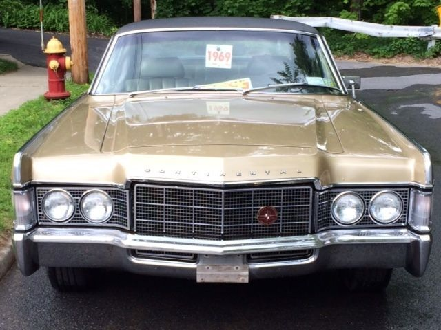 Lincoln Continental Sedan 1969 Gold For Sale 9y82a884507 1969