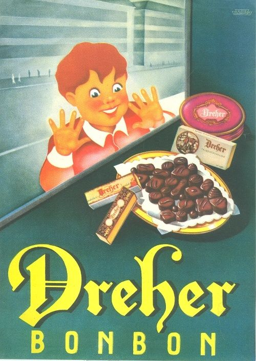 - Dreher Bonbon - Múzeum Antikvárium