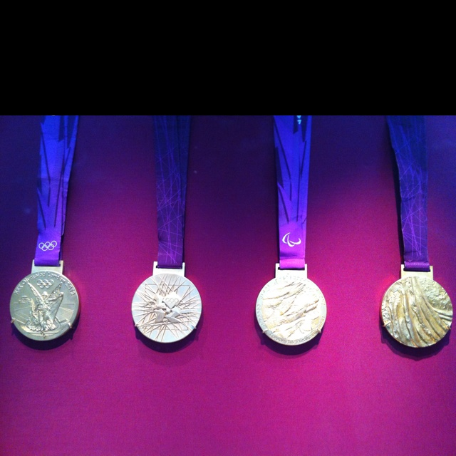 London olympics and paralympics medals