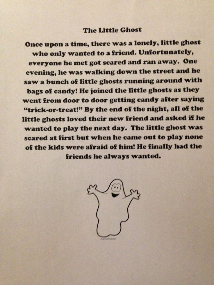 Third grade Halloween themed reading passage. Third