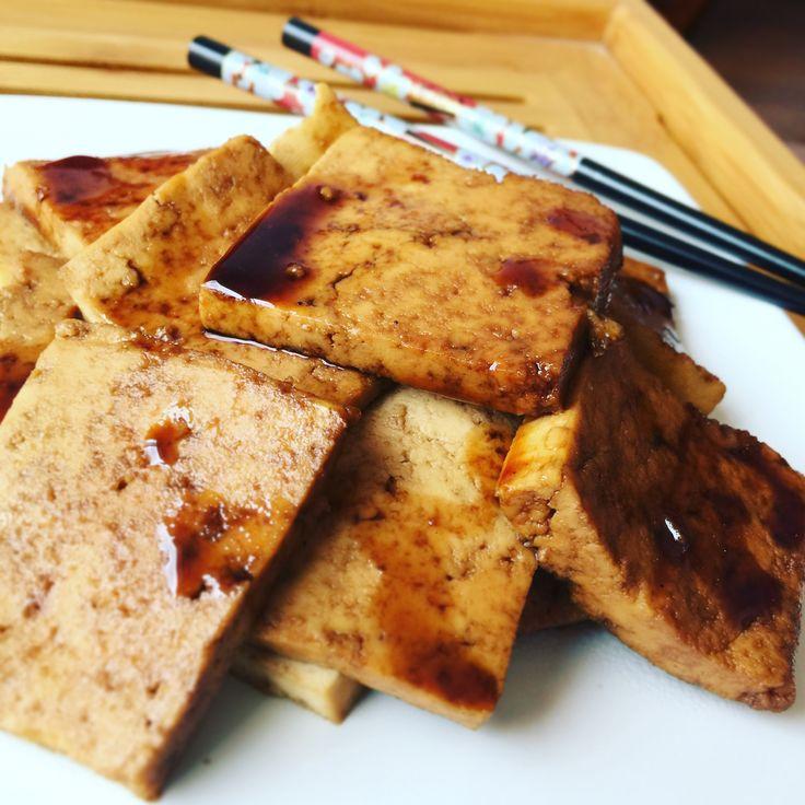 Tofu Caramelizado - Mejor Real que Perfecto