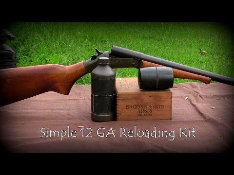 Simple 12GA Reloading Kit - YouTube