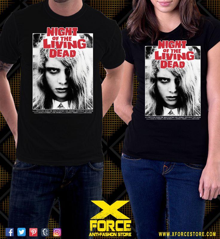 Camiseta Noite Dos Mortos Vivos George Romero Zumbi Terror