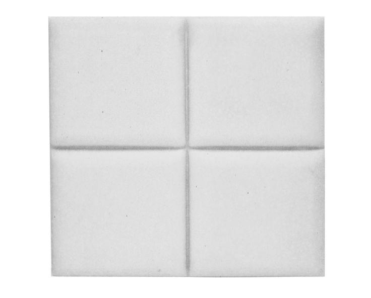 Płytka 3D Pillow - Biała - zdjęcie od Bettoni - Beton Architektoniczny - Łazienka - Styl Nowoczesny - Bettoni - Beton Architektoniczny