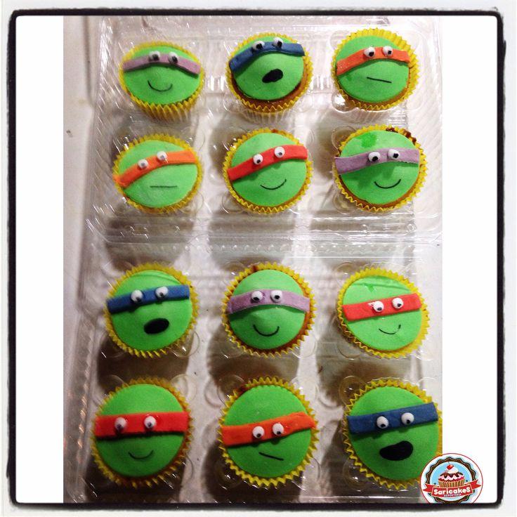 Cupcake Tortugas Ninja