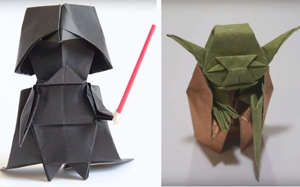 Cómo hacer un Darth Vader (y un Yoda) en papiroflexia » No Puedo Creer