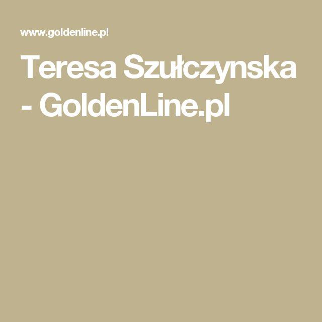 Teresa Szułczynska - GoldenLine.pl
