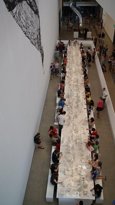 Gallery of Modern Art Brisbane - legos