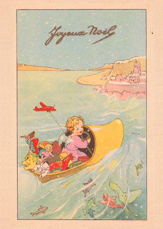 482 best vintage 88 images on pinterest vintage illustrations vintage french christmas card m4hsunfo