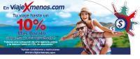 viajexmenos.com - Trae tu cotización y recibe hasta el 10% de descuento