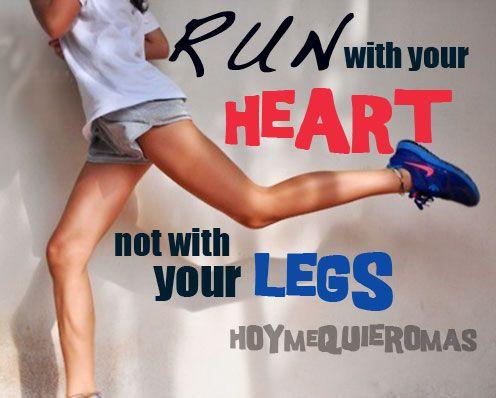 HOY ME QUIERO MAS Beneficios de correr. RUN!