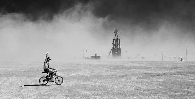 Burning Man Closed Due To Bad Weather