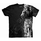 Camiseta - The Mountain - White Tiger Stripe jlle1 @jlle1.com
