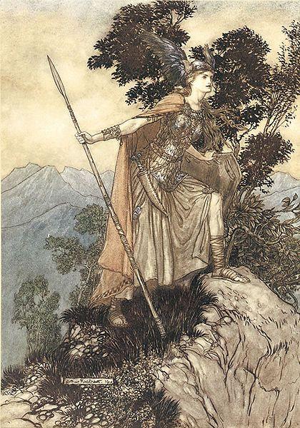 Arthur Rackham - illustrator of Wagner's operas