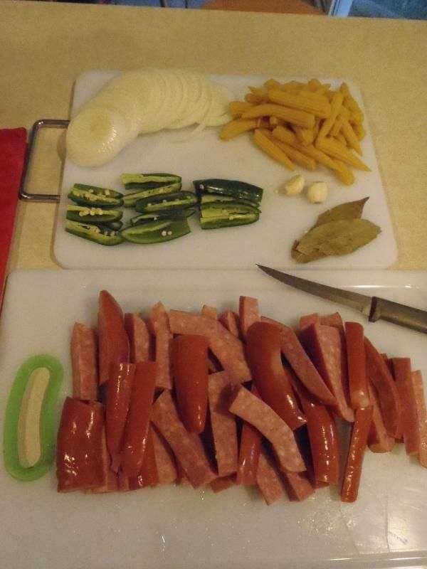 HOT Pickled Sausage Recipe - TexasBowhunter.com Community Discussion Forums