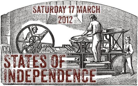 States of Independence event, Leicester. Organized by Ross Bradshaw